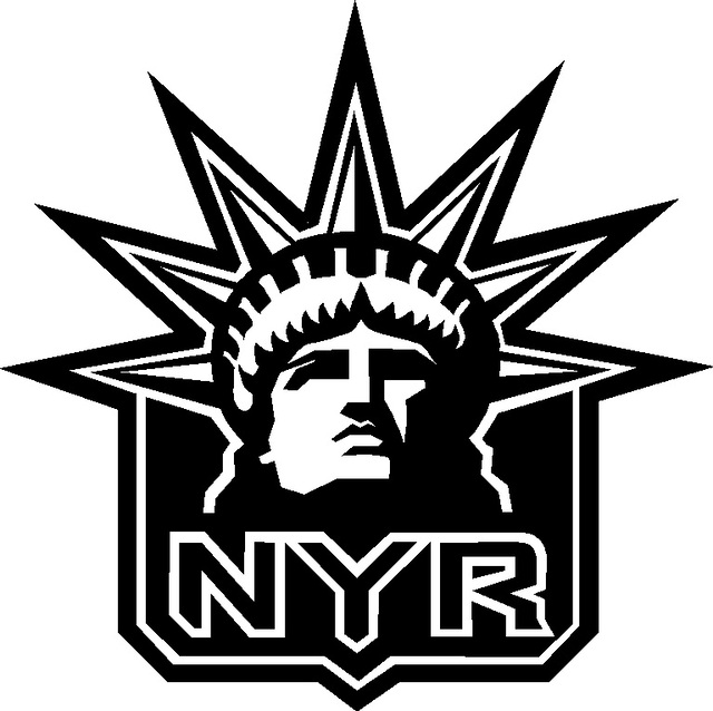 Gallery For gt Ny Rangers Logo Black And White